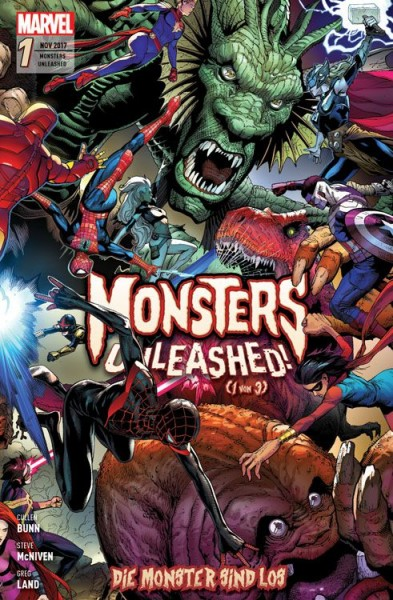 Monsters Unleashed - Die Monster sind los 1