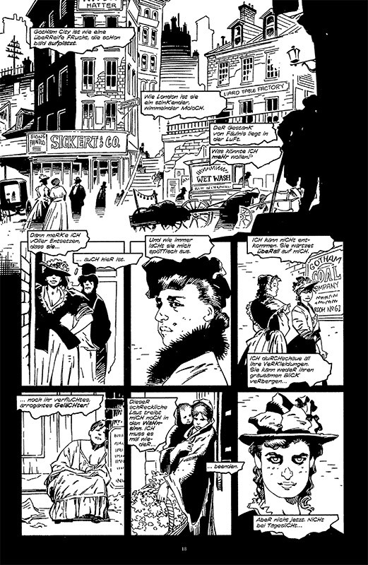 Batman Noir: Gotham by Gaslight Blick in den Comic 3