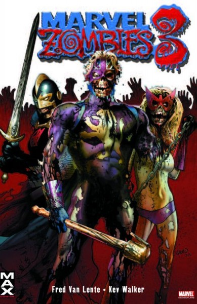 Marvel Zombies 3 Variant - Comic Action 2009