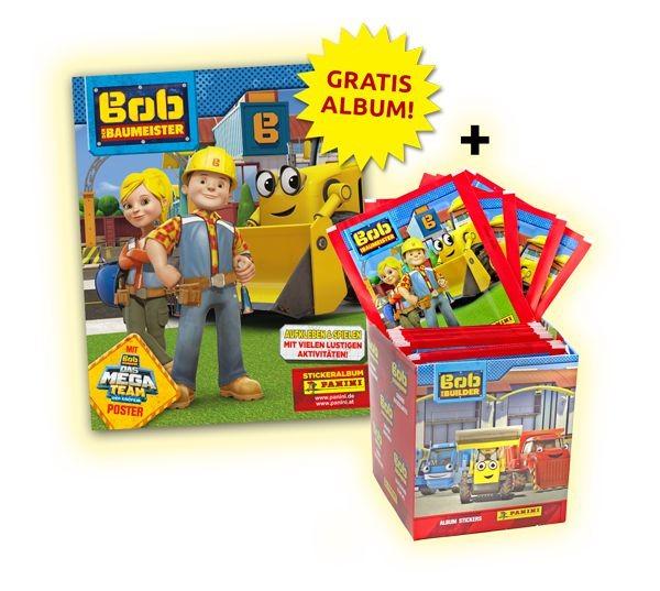 Bob der Baumeister Stickerkollektion - Bundle 1