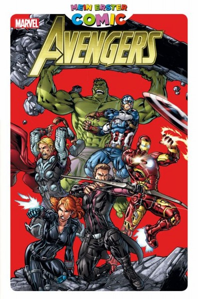 Mein erster Comic: Avengers