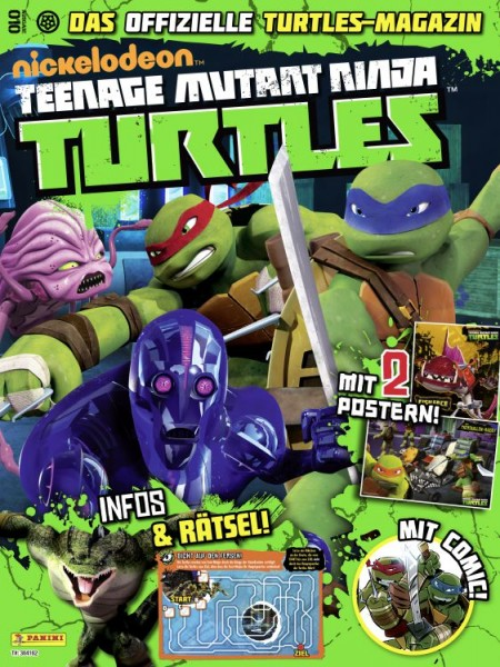 Teenage Mutant Ninja Turtles - Magazin 10