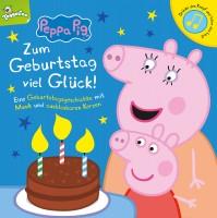 Peppa Pig - Zum Geburtstag viel Glück Pappbilderbuch Cover