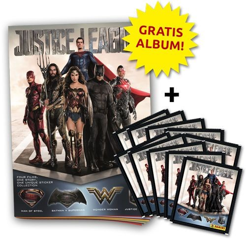 Justice League Stickerkollektion - Bundle 2