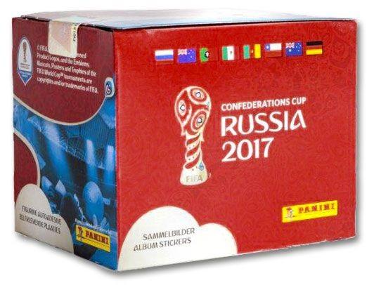 Confederations Cup Russia 2017 - Box mit 50 Tüten