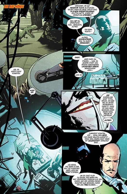 Der Batman, der lacht Blick in den Comic Vorschauseite 1