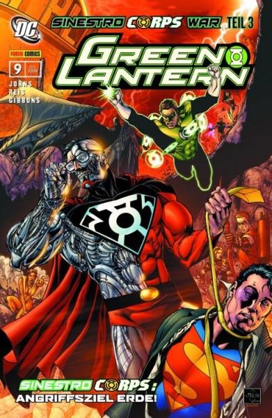 Green Lantern Sonderband 9: Sinestro Corps War 3