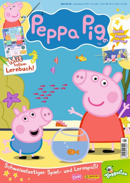 Peppa Pig Magazin 05/20 Cover