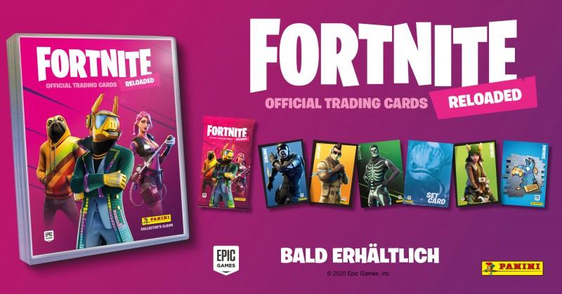 Fortnite Reloaded Official Trading Cards Banner