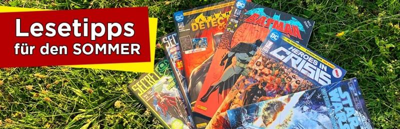 Lesetipps für den Sommer: Batman, Star Wars, Marvel und mehr Comics für den Urlaub