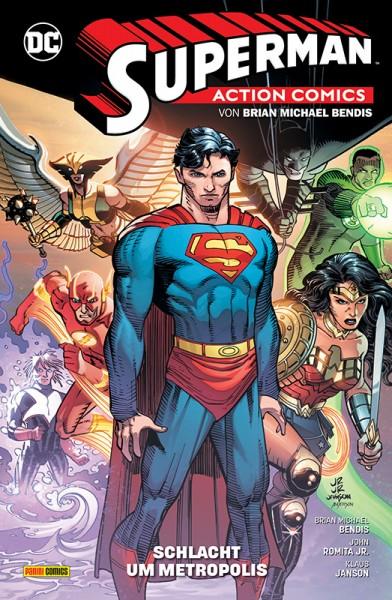 Superman - Action Comics 4 - Schlacht um Metropolis Cover