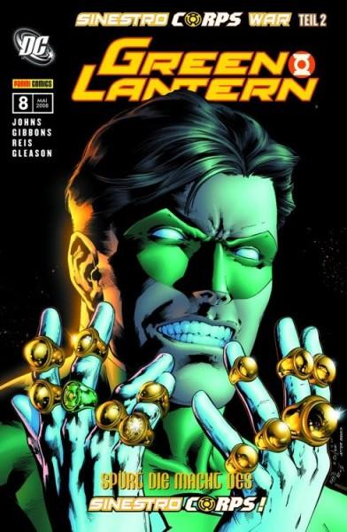 Green Lantern Sonderband 8: Sinestro Corps War 2