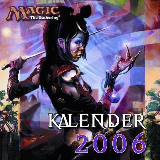 Magic - The Gathering - Wandkalender (2006)
