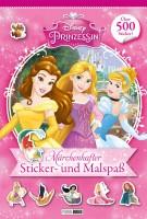 Disney Prinzessin - Märchenhafter Sticker- und Malspaß Cover