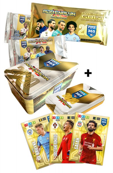 Panini FIFA 365 Adrenalyn XL 2020 Kollektion – Tin-Bundle