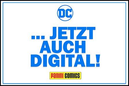 DC Comics jetzt auch digital!