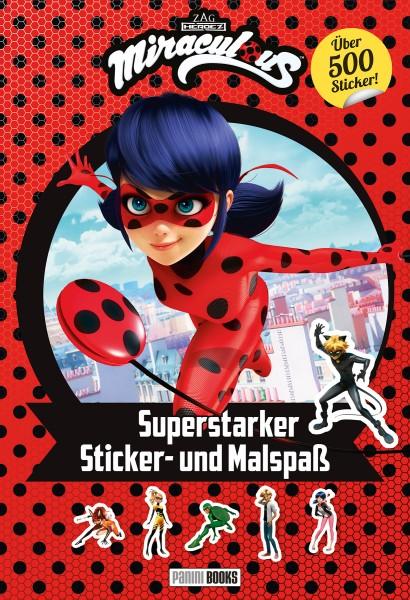 Miraculous - Superstarker Sticker- und Malspaß Cover