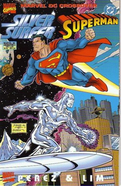 Silver Surfer/Superman: Crossover 6