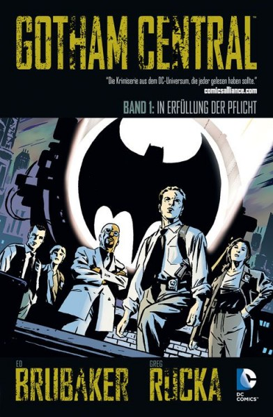 Gotham Central 1 - In Erfüllung der Pflicht