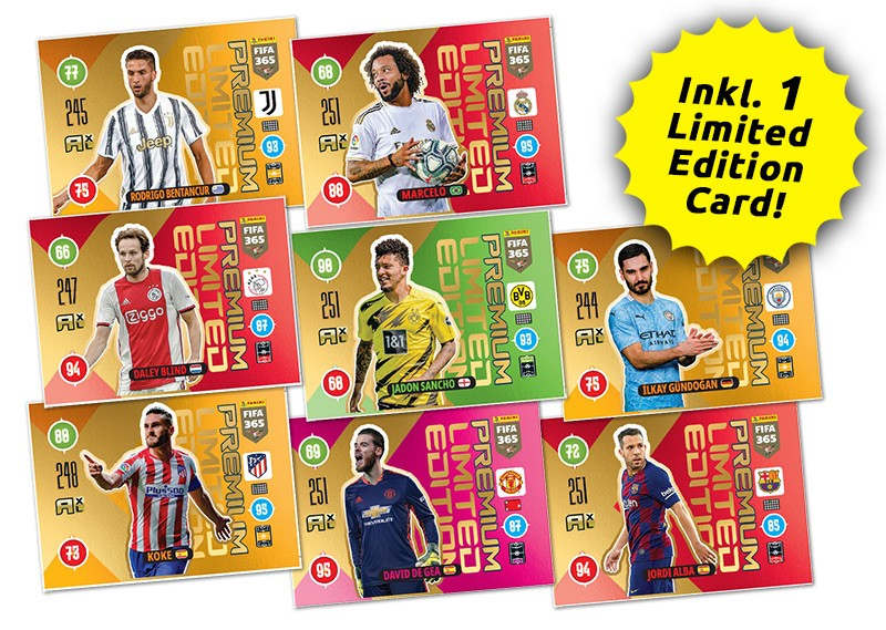 Panini FIFA 365 Adrenalyn XL 2021 - Limited Edition Card Premium-Pack