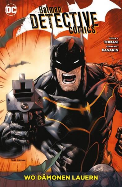 Batman Detective Comics 9: Wo Dämonen lauern Cover