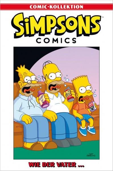 Simpsons Comic-Kollektion 6: Wie der Vater …Cover