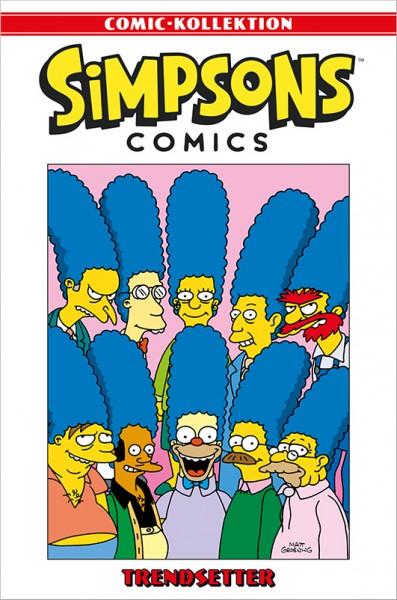 Simpsons Comic-Kollektion 50: Trendsetter Cover