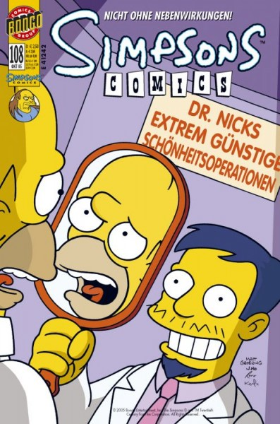 Simpsons Comics 108
