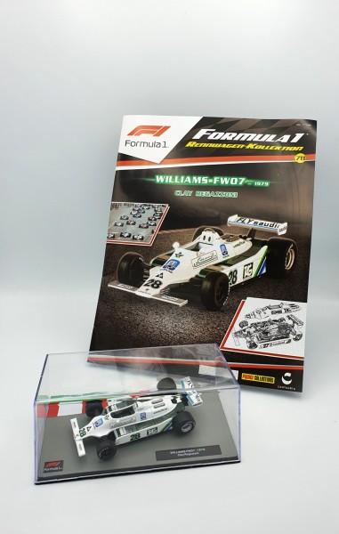 Formula 1 Rennwagen-Kollektion 78: Clay Regazzoni (Williams FW07)