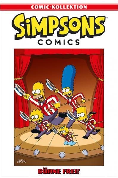 Simpsons Comic-Kollektion 49: Bühne frei! Cover