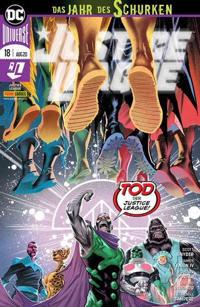 Justice League 18 Cover