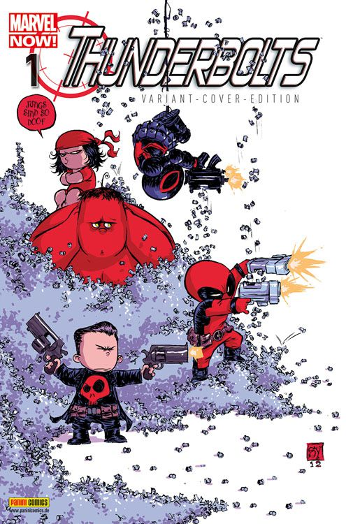 Thunderbolts 1 Marvel-Baby-Variant -...