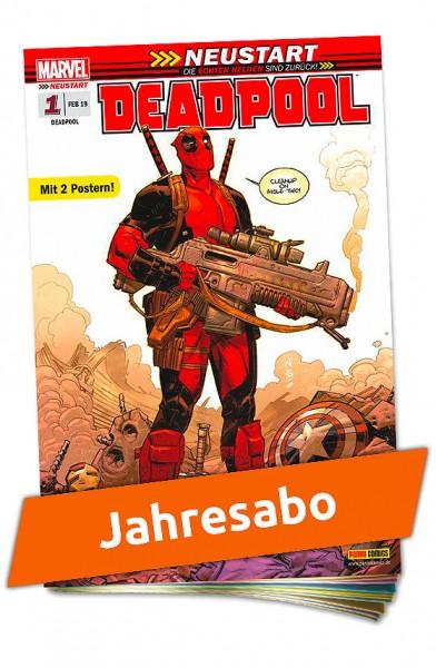 Jahresabo - Deadpool Heft