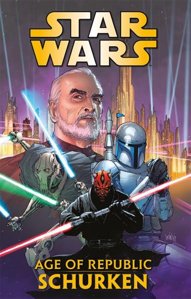 Star Wars Age of Republic - Die Schurken Cover