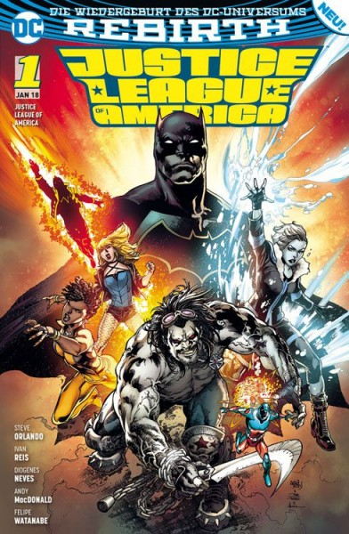 Justice League of America 1: Die Extremists