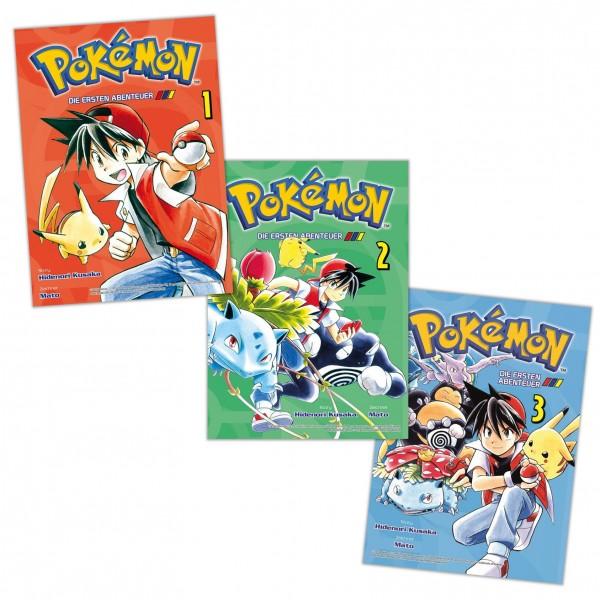 Pokémon: Die Ersten Abenteuer Schnupper-Bundle