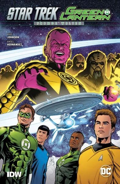 Star Trek/Green Lantern: Fremde Welten