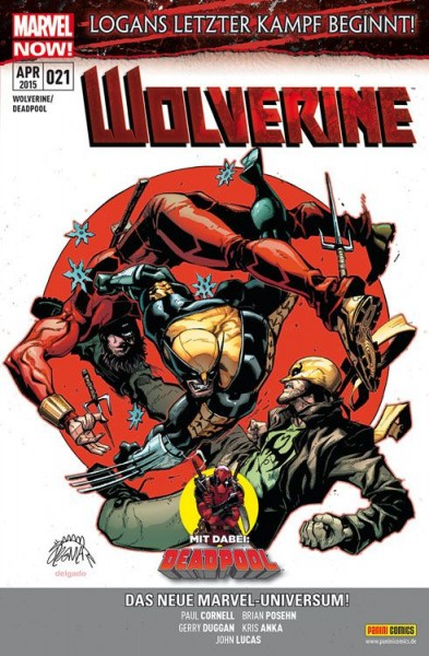 Wolverine/Deadpool 21