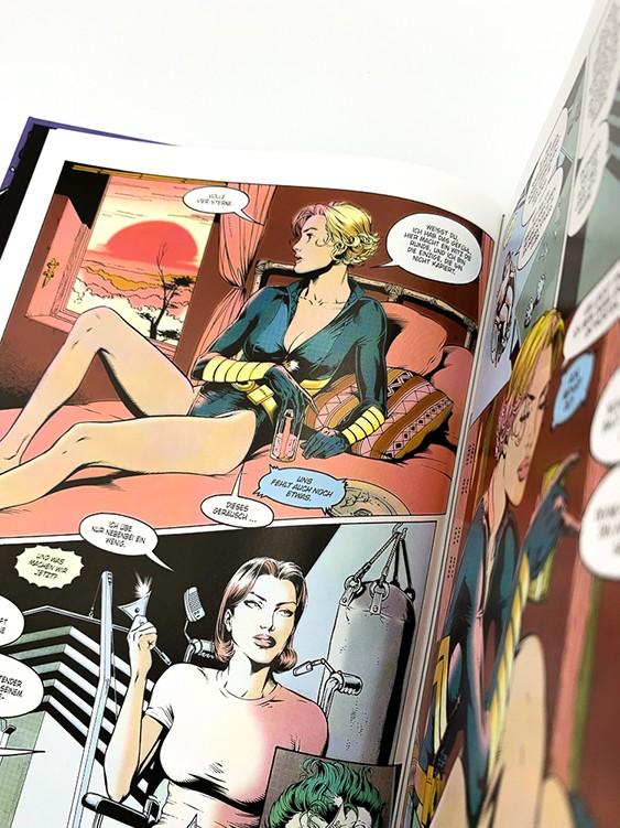 Harley Quinn und die Birds of Prey Blick in den Comic Vorschauseite
