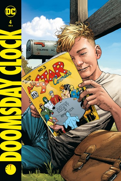 Doomsday Clock 4 Hardcover