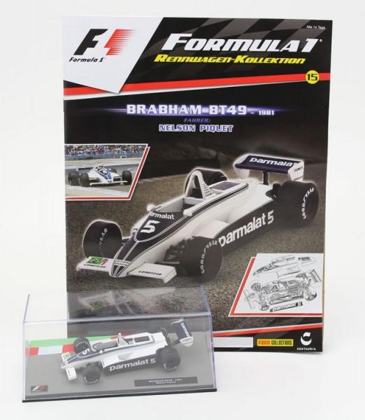 Formula 1 Rennwagen-Kollektion 15: Nelson Piquet (Brabham BT49)