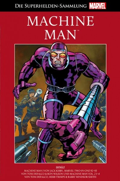 Die Marvel Superhelden Sammlung 48 - Machine Man