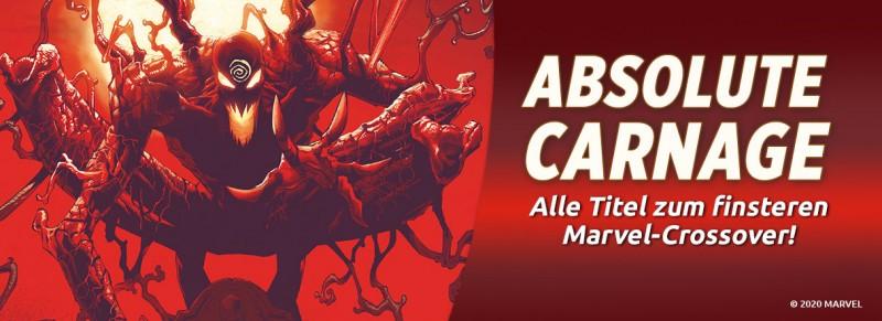 Absolute Carnage – Alle Titel zum finsteren Marvel-Crossover