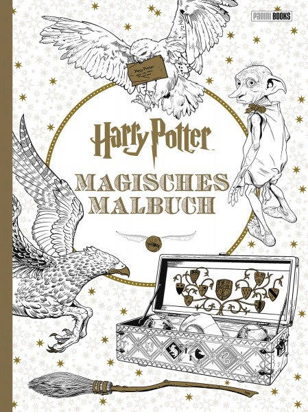 Harry Potter – Magisches Malbuch Cover