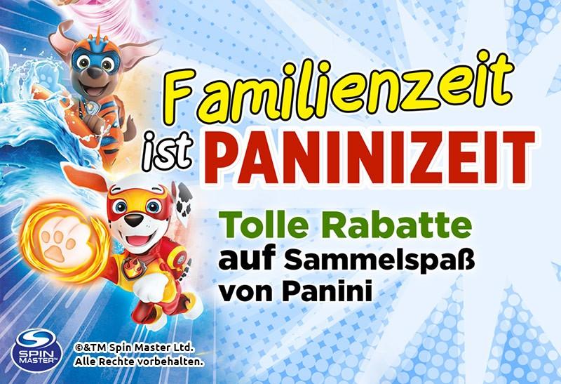 Familienzeit ist Paninizeit: Aktivitätenspaß für die ganze Familie