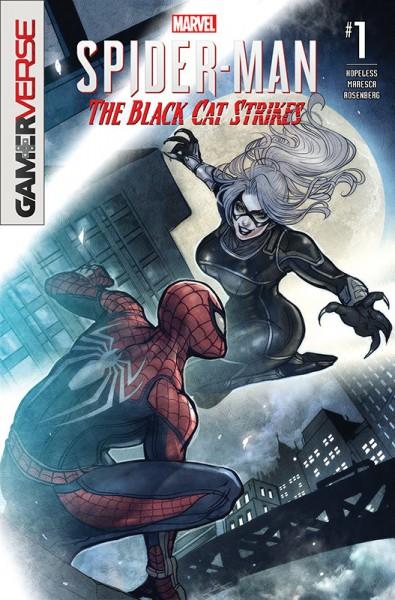 Spider-Man: Black Cat schlägt zu Cover