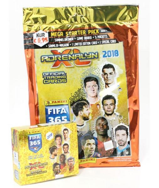 Panini FIFA 365 2018 Adrenalyn XL Trading Cards - Bundle 3