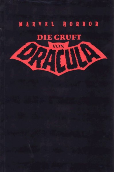 Marvel Horror - Die Gruft von Dracula 1 - Limited Edition