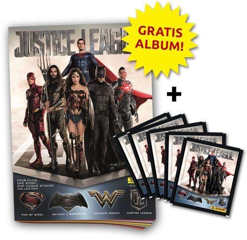Justice League Stickerkollektion - Bundle 3
