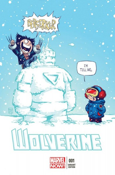 Wolverine/Deadpool 4 - Wolverine Marvel-Baby Variant - Comic Action 2013